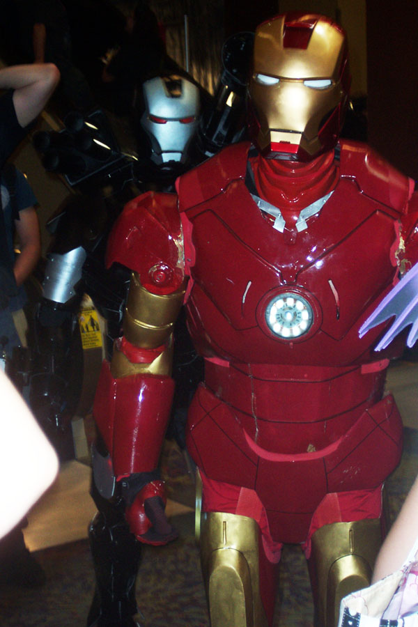 Iron Man and War Machine (Arizona Avengers)