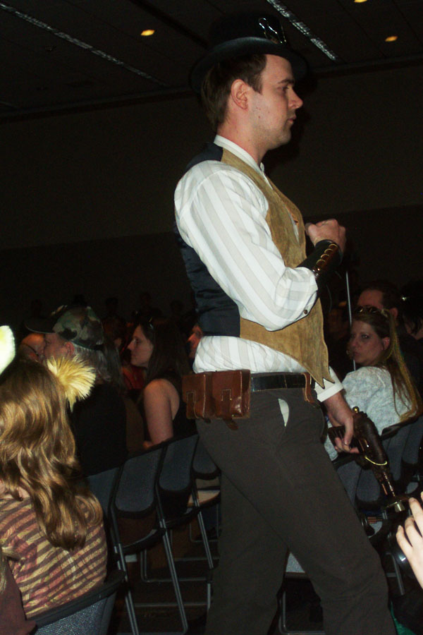 Steampunk fashion show 2