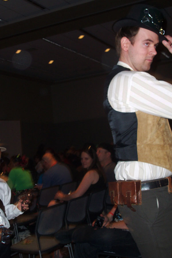 Steampunk fashion show 4