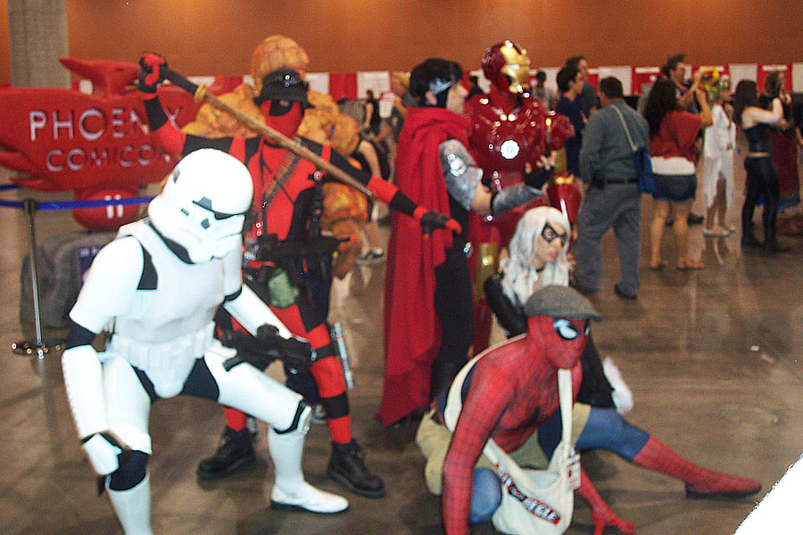 Arizona Avengers (and a Storm Trooper)