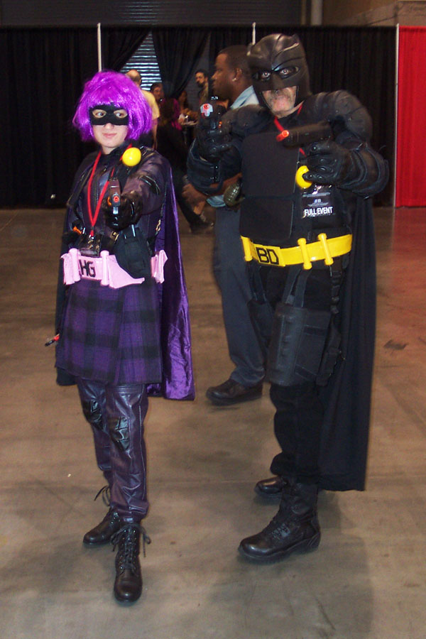 Hit-Girl and Big Daddy