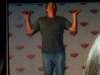 Nicholas Brendon does the Snoopy Dance
